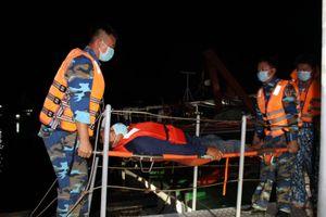 Cảnh sát biển cứu thành công ngư dân bị nạn trên biển