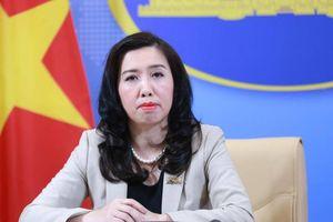 Việt Nam theo dõi sát tình hình phức tạp đang diễn ra trên Biển Đông