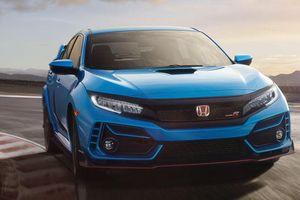 Honda Civic Type R 2020 xuất hiện trong video mới