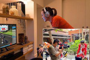 Hoãn Cúp Truyền hình, HTV tổ chức đua xe đạp trực tuyến