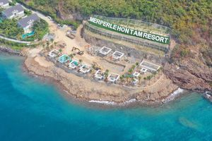 Xử phạt công ty Hòn Tằm tự ý lấn chiếm hàng trăm m2 đất ở vịnh Nha Trang