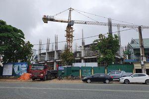 Nghệ An: Đình chỉ hoạt động cần trục tháp của Công ty Cổ phần Tập đoàn Hoành Sơn