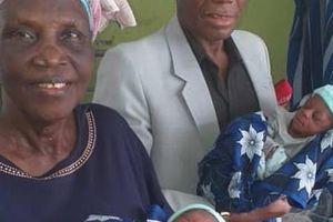 Cặp vợ chồng 70 tuổi chào đón con đầu lòng sau 43 năm chữa vô sinh