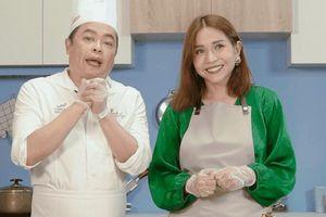 Khả Như nấu ăn với đầu bếp người Việt của Angelina Jolie, thừa nhận dở 'nữ công gia chánh'