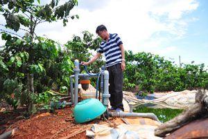 Lợi ích kép từ hệ thống tưới tiết kiệm nước cho cây cà phê Tây Nguyên-VnSAT