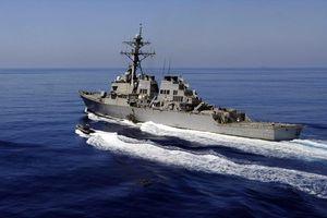 Tàu chiến Mỹ áp sát quần đảo Hoàng Sa