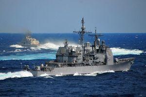 Tuần dương hạm Mỹ áp sát quần đảo Trường Sa
