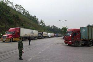 Lạng Sơn dừng thông quan hàng hóa xuất nhập khẩu