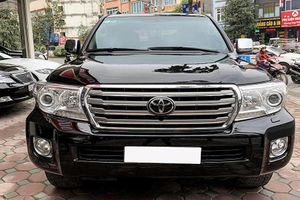 Toyota Land Cruiser chạy 12 năm 'thét giá' gần 2 tỷ ở Hà Nội