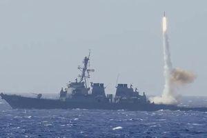Uy lực chiến hạm Mỹ tuần tra hàng hải gần quần đảo Hoàng Sa