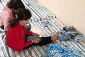 Thanh Hóa: Xử phạt cơ sở sản xuất khẩu trang không có giá trị sử dụng