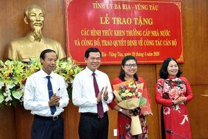 Chuẩn y Ủy viên Ban Thường vụ Tỉnh ủy đối với Bí thư Thành ủy Bà Rịa