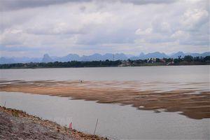Mực nước sông Mekong vẫn thấp hơn so với mức cùng kỳ của hai năm trước