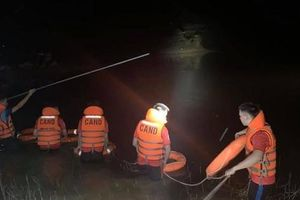Đánh cá trong đêm, 2 chú cháu bị nước cuốn tử vong thương tâm