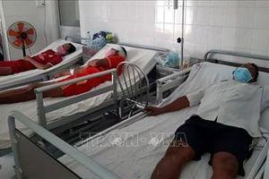 Tổng Lãnh sự quán Indonesia cảm ơn Bộ đội Biên phòng tỉnh Sóc Trăng đã cứu thuyền viên bị nạn