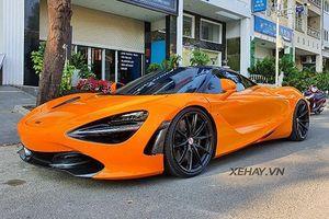 McLaren 720S hơn 23 tỷ của Cường Đô la khoe dáng tại Sài Gòn