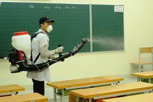 Huyện Ba Vì sẵn sàng đón học sinh trở lại lớp