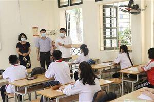 Huyện Gia Lâm: Đảm bảo các yêu cầu phòng chống dịch khi học sinh đến trường