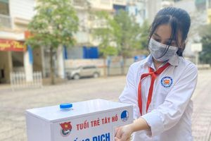 Thanh niên Thủ đô lập chốt hỗ trợ học sinh, sinh viên trở lại trường