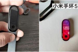 Xiaomi Mi Band 5 lộ ảnh thiết kế màn hình đục lỗ tích hợp máy ảnh