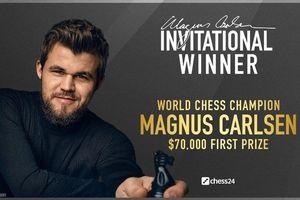 Kỳ thủ Magnus Carlsen vô địch Giải Magnus Carlsen Invitational 2020