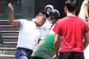 Hà Nội: Công an thông tin về vụ lái xe GrabCar đánh nhau với tài xế GrabBike