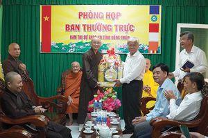 Lãnh đạo tỉnh thăm, chúc mừng Đại lễ Phật đản năm 2020
