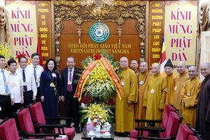 Lãnh đạo Đảng, Nhà nước và thành phố Hà Nội chúc mừng Đại lễ Phật đản 2020 - Phật lịch 2564