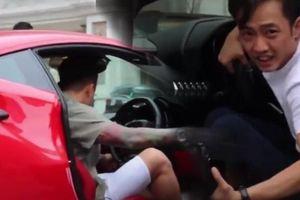 Cường Đô La- Tuấn Hưng gây náo loạn đường phố với dàn siêu xe
