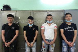 Biên Hòa: Tạm giữ 4 đối tượng mua bán trái phép chất ma túy