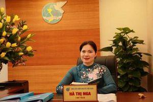 Đồng chí Hà Thị Nga được bầu giữ chức Chủ tịch Hội LHPN Việt Nam