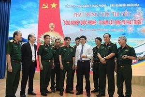 Lan tỏa hình ảnh sáng đẹp của Bộ đội Cụ Hồ ngành Công nghiệp quốc phòng