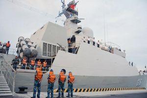 Trung tâm tác chiến của tàu hộ vệ 016 Quang Trung lần đầu lộ diện