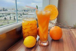 Tự làm trà đào cam sả hóa ra lại dễ thế, bảo sao chị em rần rần yêu thích và chia sẻ!
