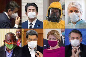 Nhiều lãnh đạo phương Tây đảo chiều quan điểm với đeo khẩu trang