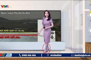 Lỗi kỹ thuật khiến MC dự báo thời tiết kỳ cựu của VTV 'tím lịm tìm sim' trên sóng truyền hình