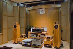 Cân cảnh phối ghép siêu loa 6,5 tỉ Kaiser Classic Brilliant Edition và ampli đèn Kondo Overture