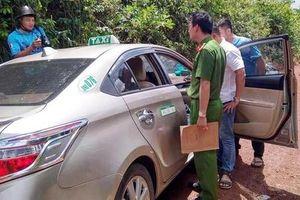 Vây bắt nghi phạm cướp tài sản tài xế taxi