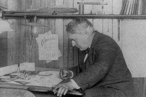Tiểu thuyết khoa học viễn tưởng dang dở của nhà phát minh Edison