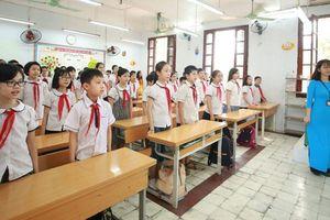 Ngày đầu trẻ mầm non, tiểu học trở lại trường: Ổn định ngay nền nếp lớp học