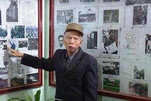 Nhà lưu niệm Bác Hồ ở gia đình lão nông 84 tuổi