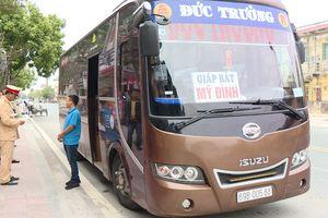 Công an huyện Thái Thụy tăng cường kiểm tra, xử lý phương tiện vận tải khách vi phạm