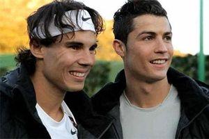 Nadal - chơi thân với Ronaldo nhưng lại là fan của Messi