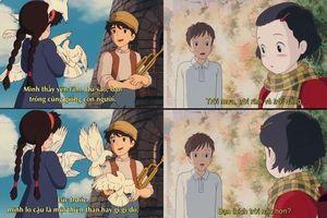 Phát hiện vui: 'Thả thính' không trượt phát nào, chỉ có thể là nam chính nhà Ghibli!