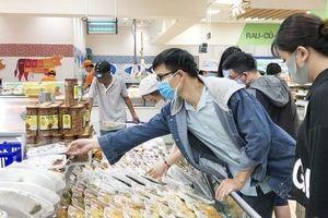 Giảm giá nhiều mặt hàng thực phẩm đông lạnh, chế biến