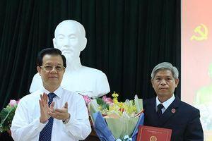 TANDTC: Công bố Quyết định bổ nhiệm chức vụ Phó Vụ trưởng Vụ Công tác phía Nam