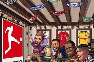 Ảnh chế: Ronaldo rửa bát, Messi nấu ăn 'ngậm ngùi' nhìn Sancho, Haaland, Lewandowski chơi bóng