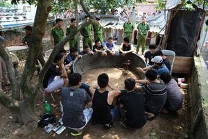Liên tục bắt các đối tượng đá gà ăn tiền tại Bắc Ninh, Bắc Giang