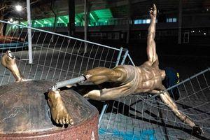 Tượng đài huyền thoại Ibrahimovic sẽ được dựng lại
