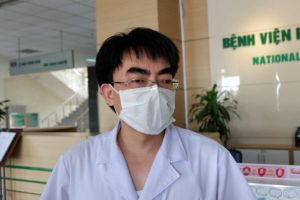2 ca COVID-19 viêm phổi chuyển từ Thái Bình lên BV Bệnh Nhiệt đới TW sức khỏe ổn định